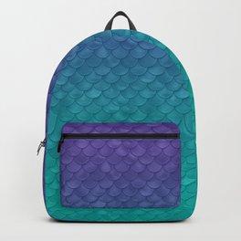 Ariel Mermaid Inspired Purple & Green Backpack
