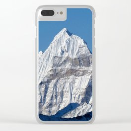 Rollo Mountain Clear iPhone Case