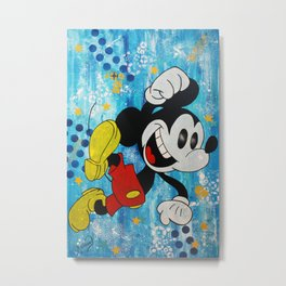 The Mouse Happy Day  Metal Print