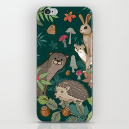 Animals In The Woods iPhone Skin