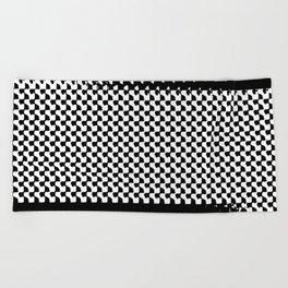 pixelwarp Beach Towel