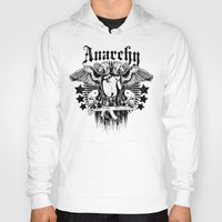 sons of anarchy Hoodies featuring Anarchy by Tshirt-Factory