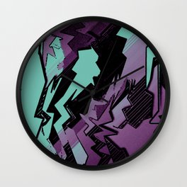 Action Packed Wall Clock