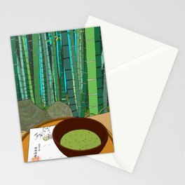 Bamboo Temple in Japan Stationery Cards