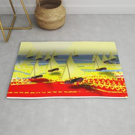 May's Return - shoes stories Rug