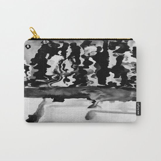 Dripping Tease in Black and White Carry-All Pouch