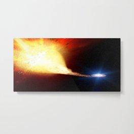 Explosive supernova Metal Print