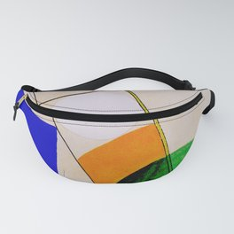 Composition by Sophie Taeuber-Arp - Vintage Painting Fanny Pack