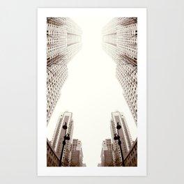 Skyscrapper Art Print
