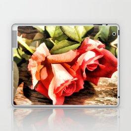 Timeless Tropicana Roses Laptop & iPad Skin