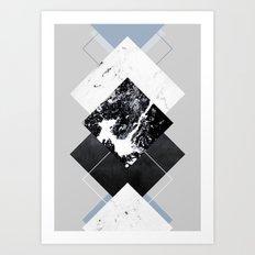 Geometric Textures 5 Art Print
