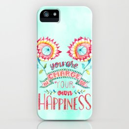 You are in Charge iPhone Case