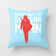 Searching for SugarMan Throw Pillow