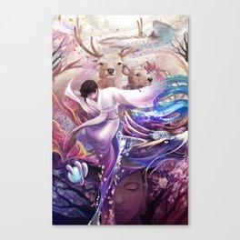 shi Canvas Print