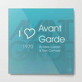 I <3 Avant Garde Metal Print