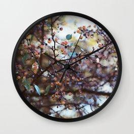 October Morning Wall Clock