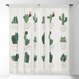 Cat and Plant 20: Cattus Blackout Curtain