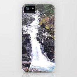 Washington Waterfall iPhone Case