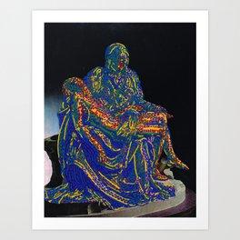 Pietà Art Print