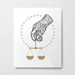 Decide Metal Print