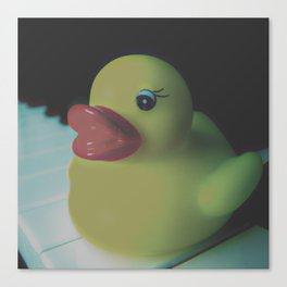 Ducky Canvas Print
