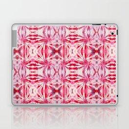 Summer Vibes Tie Dye in Red Peppermint Laptop & iPad Skin