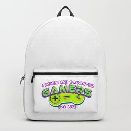 Father and Daughter Gamers For Life Backpack
