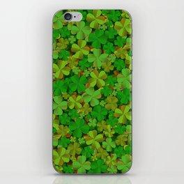 Lucky Clovers iPhone Skin