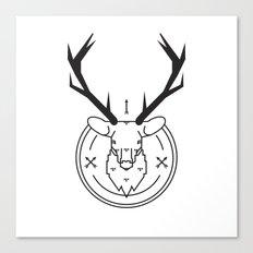 Hunters head Canvas Print