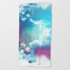 Message to Universe Beach Towel