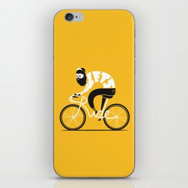 Let's ride iPhone Skin