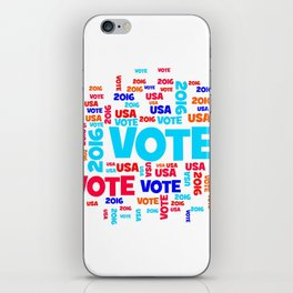 Vote USA 2016 iPhone Skin