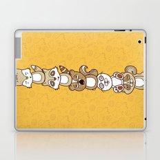 Woodland Creature Totem Pole Laptop & iPad Skin