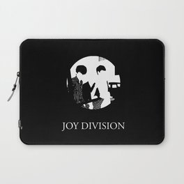 JOY DIVISION - Music | Goth | Indie | Wave | Retro | Vintage | Vector | Black and White | Vinyl  Laptop Sleeve