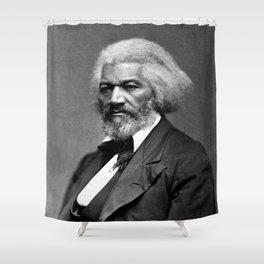 Frederick Douglass Portrait Shower Curtain