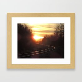 sundown Framed Art Print