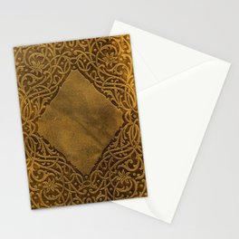 Vintage Ornamental Book Cover Stationery Cards