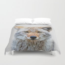 Coyote - Colorful Duvet Cover