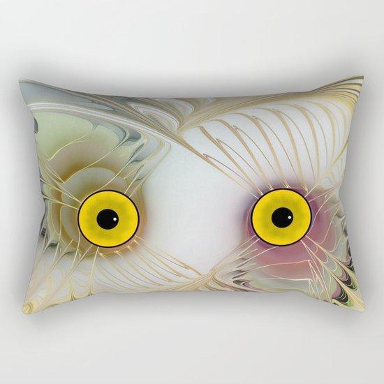 Abstract Owl Rectangular Pillow
