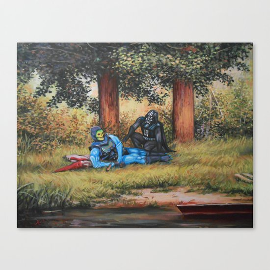 Chillin' With Bae Canvas Print
