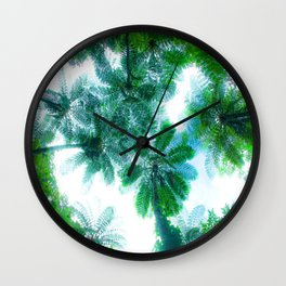 Pritty Tropicals Wall Clock