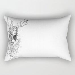 gia sketch Rectangular Pillow