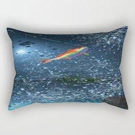 FISHING_SPLASH Rectangular Pillow
