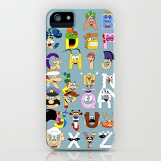 Breakfast Mascot Alphabet Slim Case iPhone (5, 5s)