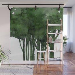 Tree Impressions No.1C by Kathy Morton Stanion Wall Mural
