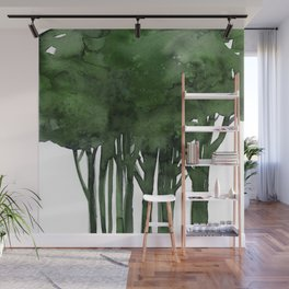 Tree Impressions No.1C by Kathy Morton Stanion Wall Mural