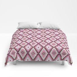 Pink Kilim Native Kilim Geometric Comforters