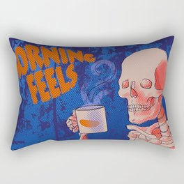 Morning feels Rectangular Pillow