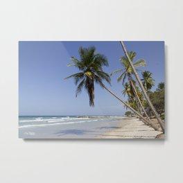 Playa Guacuco Metal Print
