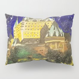 Chateau Frontenac Pillow Sham